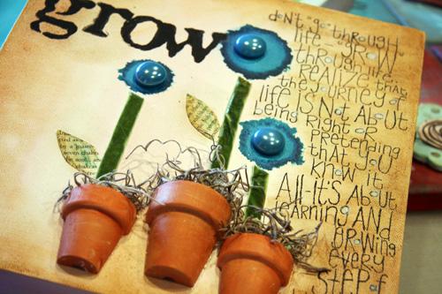 Grow canvas