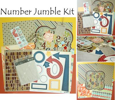 Number jumble complete kit
