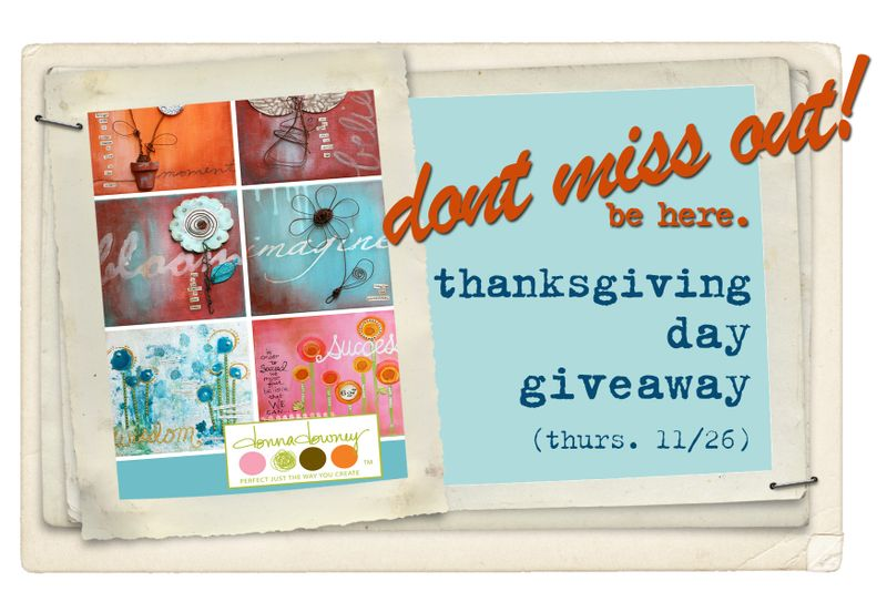 Turkey day giveaway