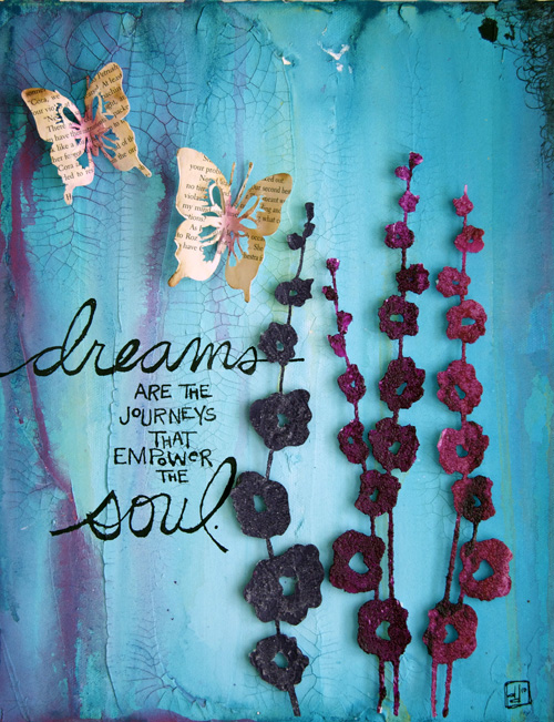 Dreams soul canvas print-