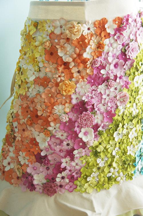 Flower aprom-