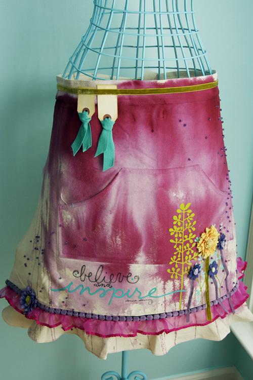 Inspire apron crop-