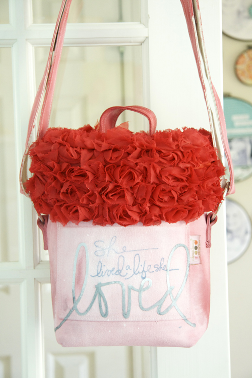 Red lg bag