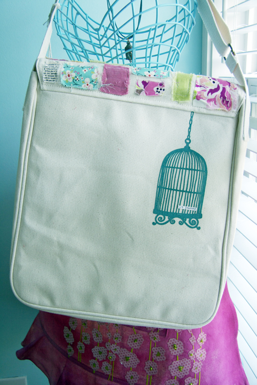 Happy bag -birdcage3-