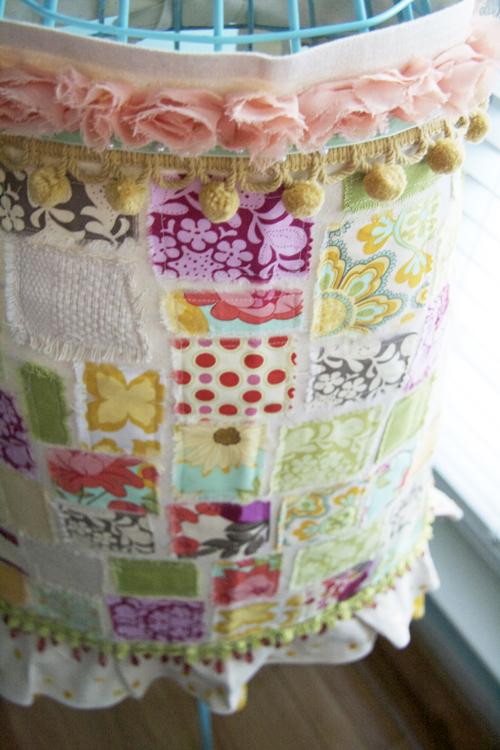 Patchwork apron 32-