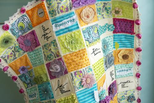 Art quilt front-