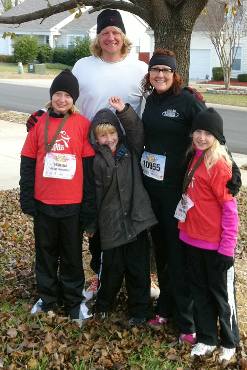 Family jingle jog 5k-