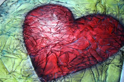 Ppon tissue heart-