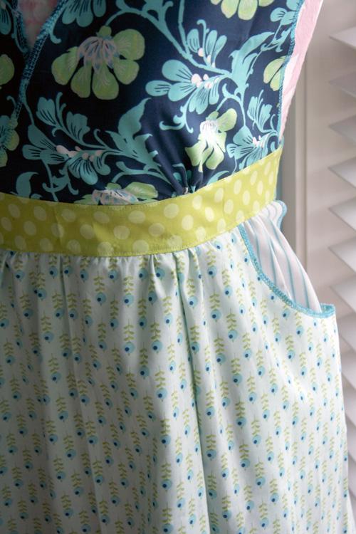 Melissa apron pocket-