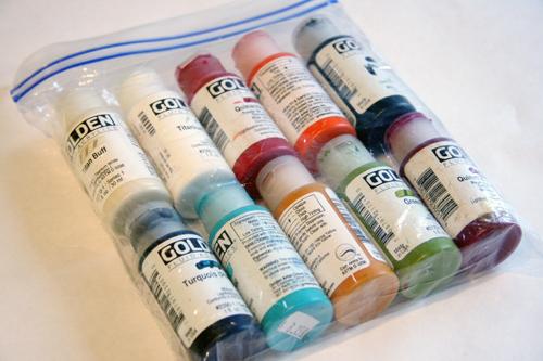 Acrylic paint-