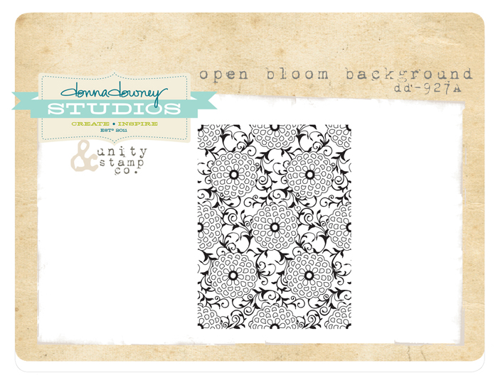 Open bloom background
