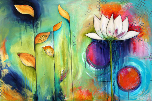 Lotus flower-