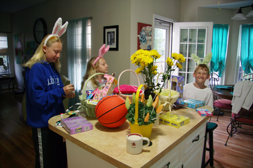 Easter morning-