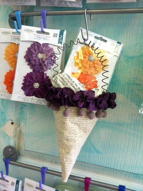 Tussie mussie purple-