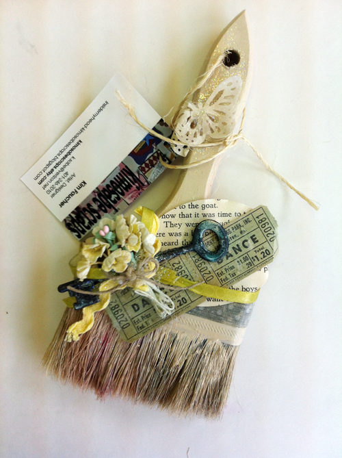 Kim faucher brush-