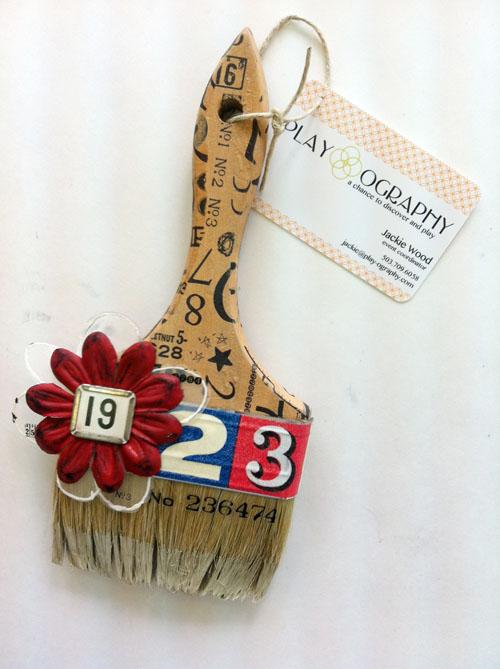 Jackie wood brush-