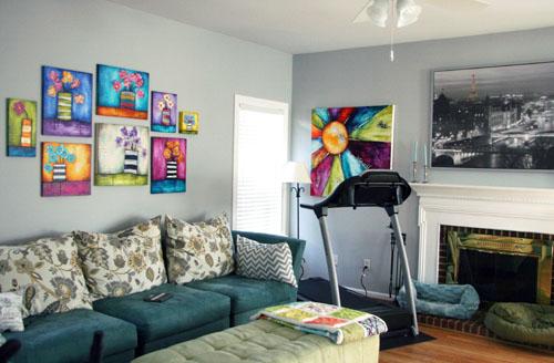 Grey Wall Living Room Ideas