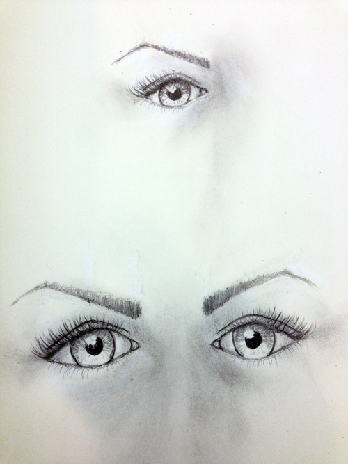 Sketch eyes-