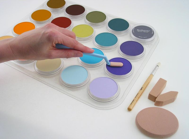 Using-20-Color-tray