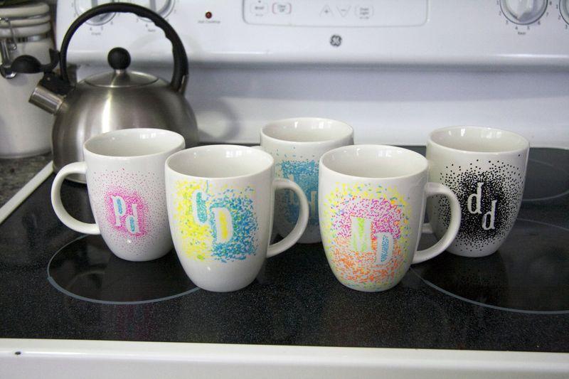 Monogrammed mugs5