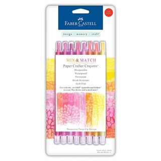 5FC-770520-Faber-Castell-Paper-Crafter-Crayons-Red-and-Yellow-8-Pkg-600x600