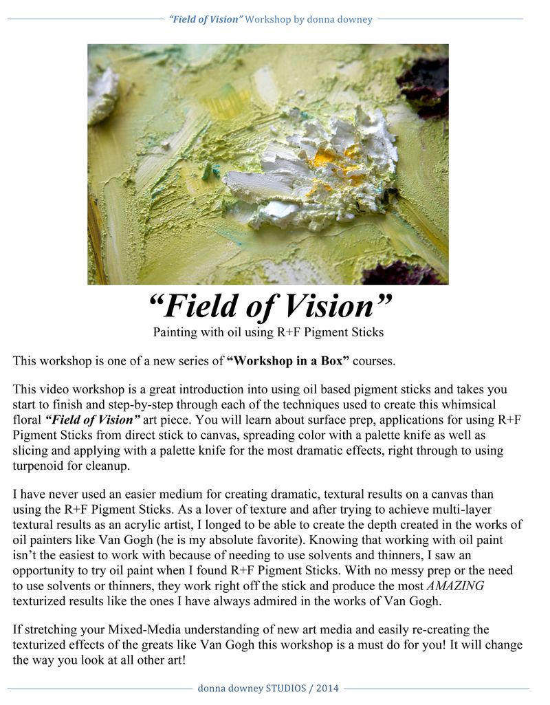 Field of Vision description