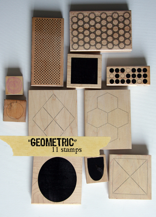 Geometric title