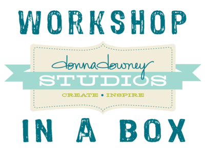 Workshop in a box label