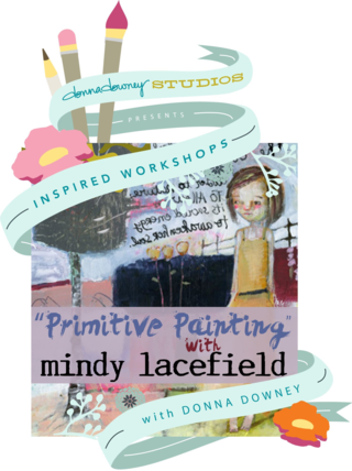Primitive painting mindy lacefi