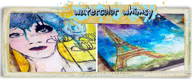 Watercolor whimsy image