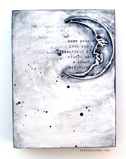 DeeDee Catron - Triptych Panel 3