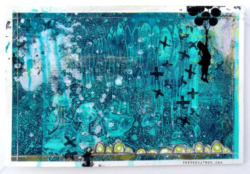 DeeDee Catron - Stencil MANIA GellI Printing