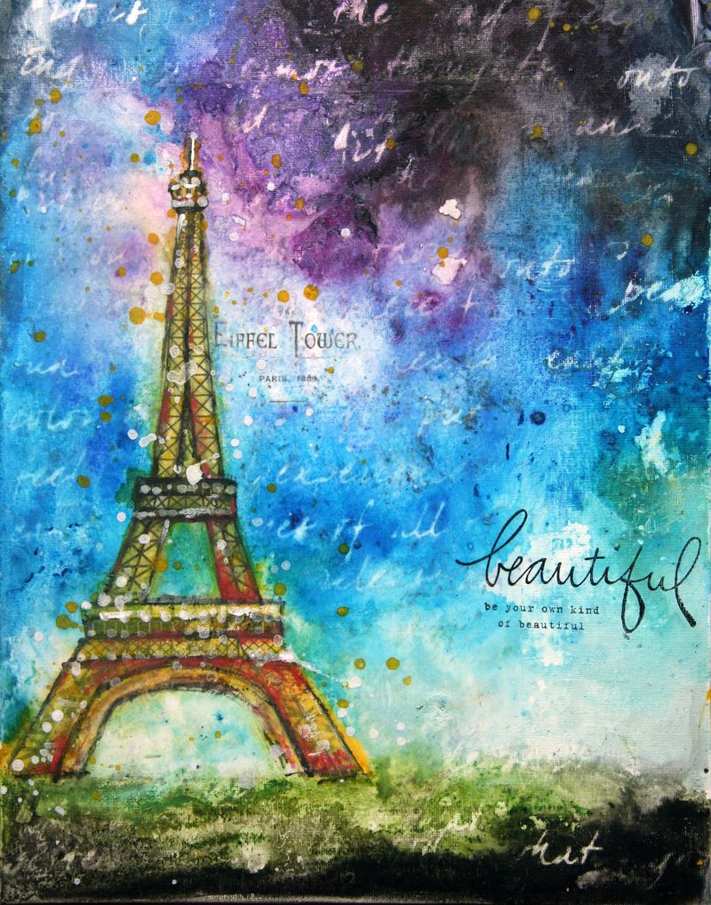 Watercolor whimsy-eiffel tower-6