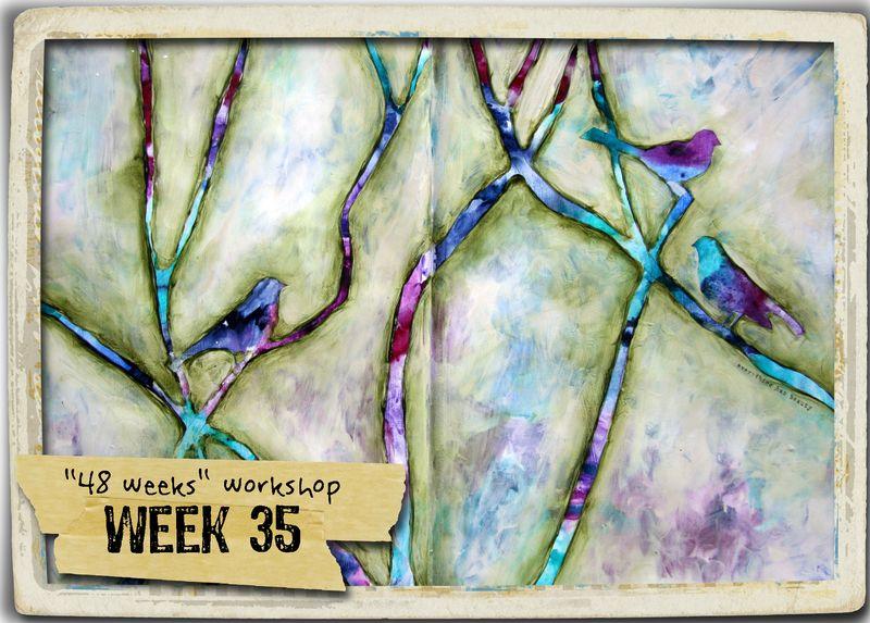 Week 35 + frame