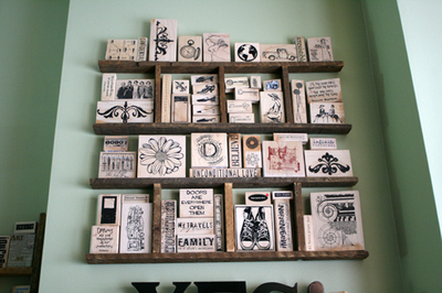 Stamps_on_wall
