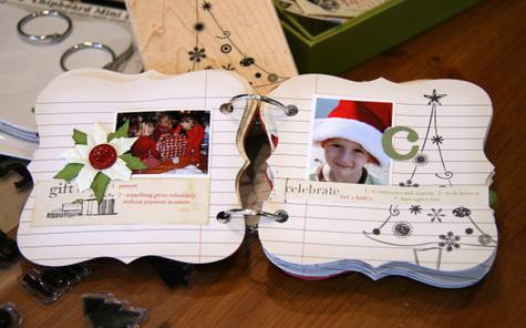 FA LA LA! Christmas Mini Album Kits - simply me